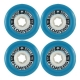 Roda Floaters SuperBalls 77mm 81a - Azul