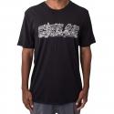Camiseta Nike SB Slant City - Preto