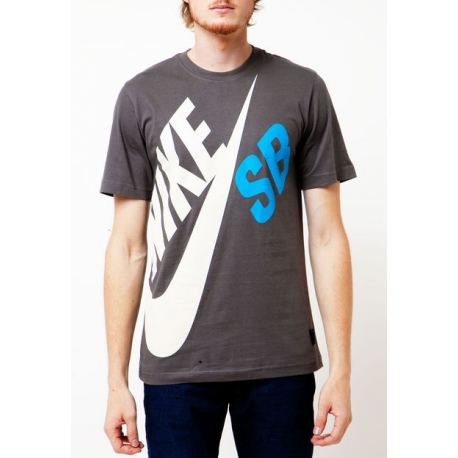Camiseta Nike SB DF Big - Cinza