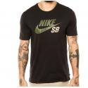 Camiseta Nike SB Icon Reflective - Preto