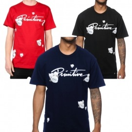 Camiseta Primitive United - Azul