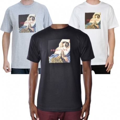 Camiseta Primitive Ritual - Cinza