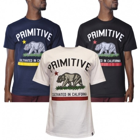 Camiseta Primitive Cultivated - Preto