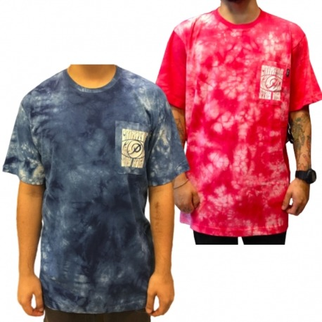 Camiseta Primitive Stay High Pocket Tie Die - Vermelho