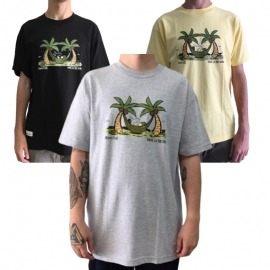 Camiseta Primitive Off Duty - Amarelo