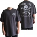 Camiseta Primitive Take Warning Cinza