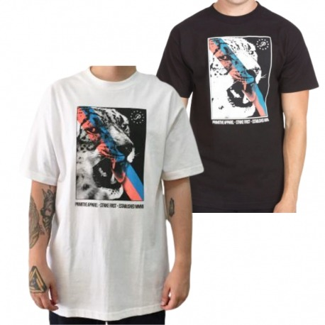 Camiseta Primitive Strike First - Preta