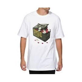 Camiseta Primitive Box Flower White