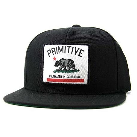 Boné Primitive Cultivated Snapback - Preto
