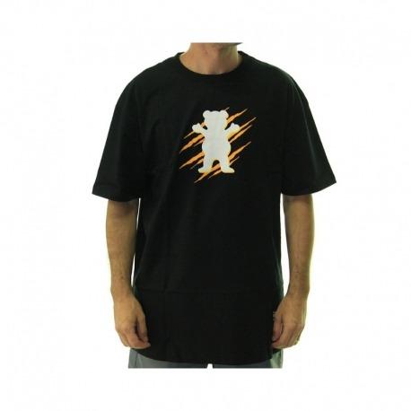 Camiseta Grizzly Wound OG Bear - Preta