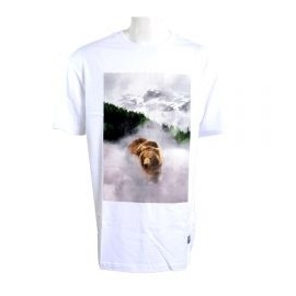 Camiseta Grizzly Cloud Montain White