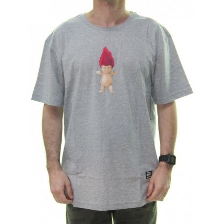 Camiseta Grizzly Troll Og Bear Grey