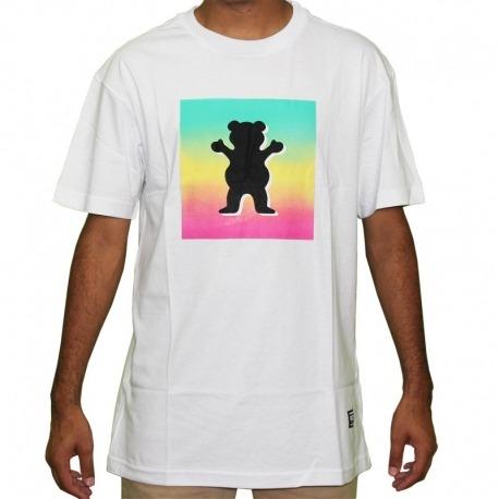 Camiseta Grizzly OG 3D Bear - Tie Dye