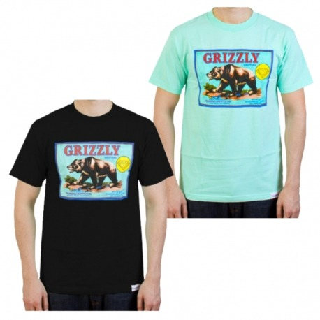 Camiseta Grizzly The Sales Agent - Preta