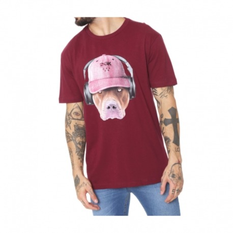 Camiseta DGK Red Nose Burgundy