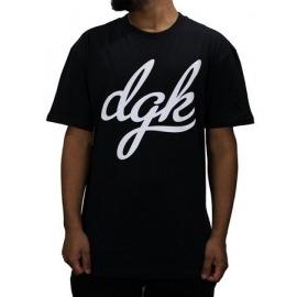 Camiseta DGK Script Forest Black