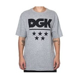 Camiseta DGK All Star Heather