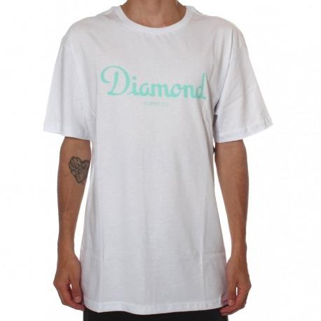 Camiseta Diamond Champagne White 3XG