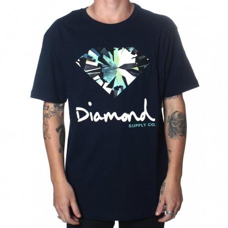 Camiseta Diamond Simplicity Navy