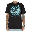 Camiseta Nike SB Brewed Crest - Preto