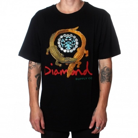 Camiseta Diamond Alligator Black