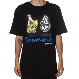 Camiseta Diamond Tiger Black