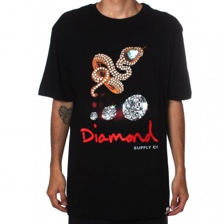 Camiseta Diamond Snake Black