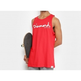 Regata Diamond OG Script Red