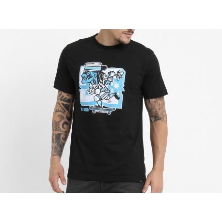 Camiseta DC 123 Klan Blue/Black