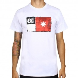 Camiseta DC Core Newflag White