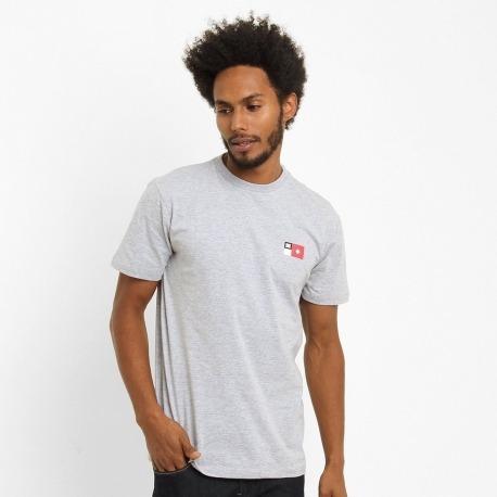 Camiseta DC Core Frontin Grey
