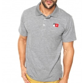 Camisa DC Polo Core Grey