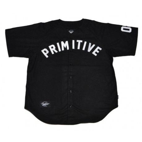 Camisa Primitive Team Baseball Jersey Black
