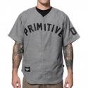 Camisa Primitive Team Baseball Jersey Grey