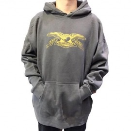 Moletom Antihero Basic Eagle Grey/Gold