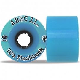 Roda Abec 11 70's Flashback 70mm 81a - Azul