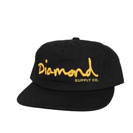 Boné Diamond Brilliant Snapback - Preto