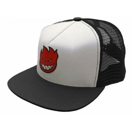 Boné Spitfire Bighead Red Logo Black