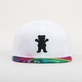 Boné Grizzly OG Bear White/Tie Dye