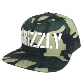 Boné Grizzly Stamp Camuflado