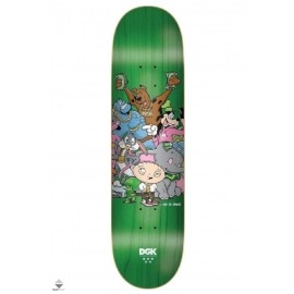 Shape DGK No To Drugs - Fundo Verde