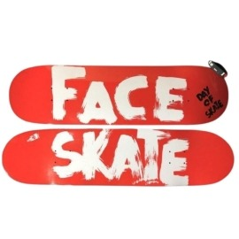 Shape Face Day of Skate Red