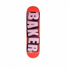 Shape Baker Brand Logo Neon Orange