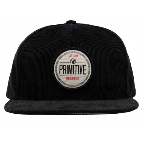 Boné Primitive Recruit Strapback - Preto
