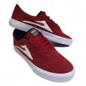 Tênis Lakai Sheffield Red/White
