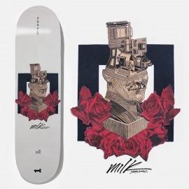 Shape Milk Reverse Logo Machine Head