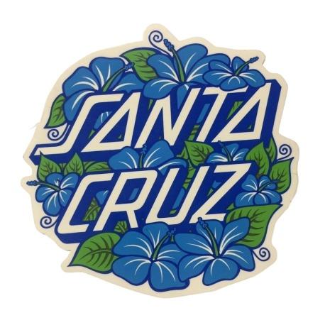 Adesivo Santa Cruz Hibiscus Dot (15cm x 16cm)