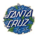 Adesivo Santa Cruz Hibiscus Dot M - (15cm x 16cm)