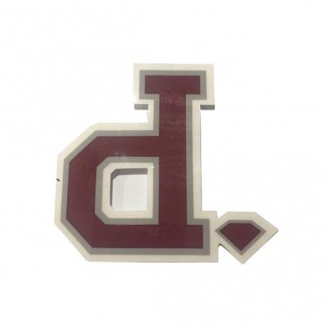 Adesivo Diamond Un Polo Burgundy (7,5cm x 8cm)