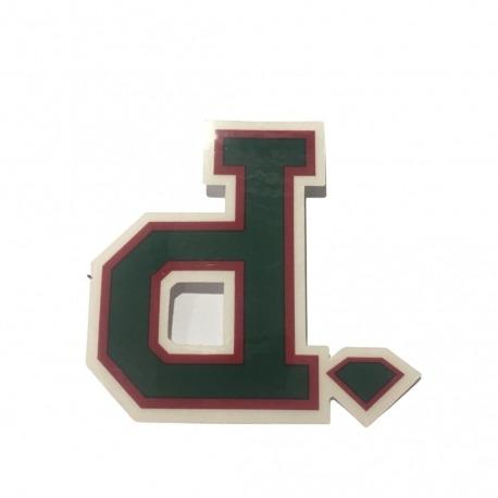 Adesivo Diamond Un Polo Green (7,5cm x 8cm)